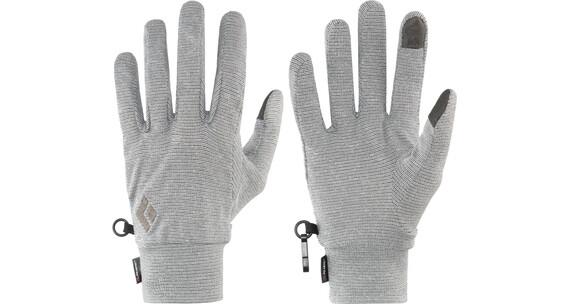 Black Diamond Lightweight Wooltech Handschoenen grijs